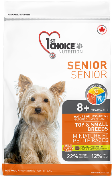 1st Choice Toy & Small Breeds Senior