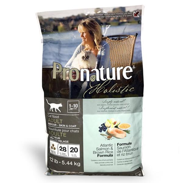 5 кг Pronature Holistic Adult Atlantic Skin & Coat уход за кожей и шерстью для взрослых кошек