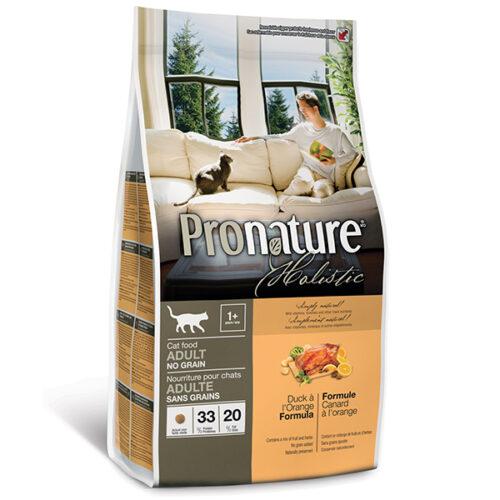 Pronature Holistic Adult Grain Free с уткой и апельсинами